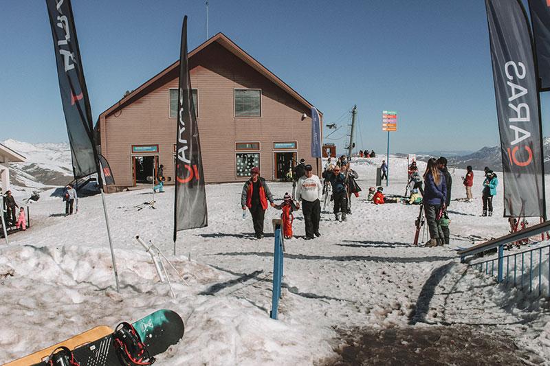 Esqui no Valle Nevado Chile