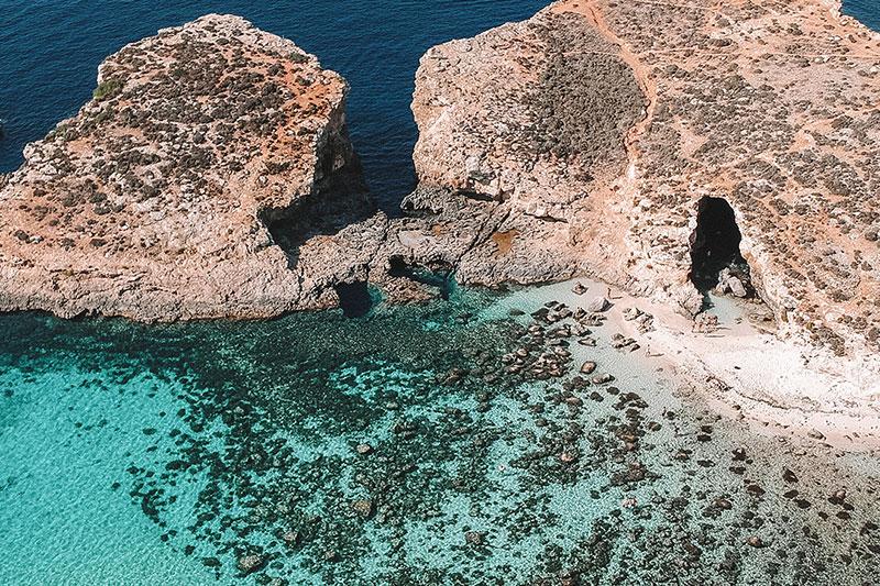 7 melhores praias de Malta para aproveitar no verão