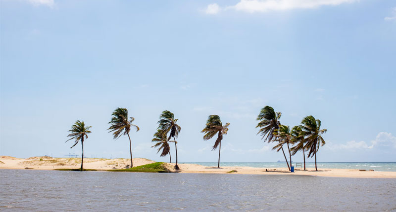 Cumbuco praia em Fortaleza