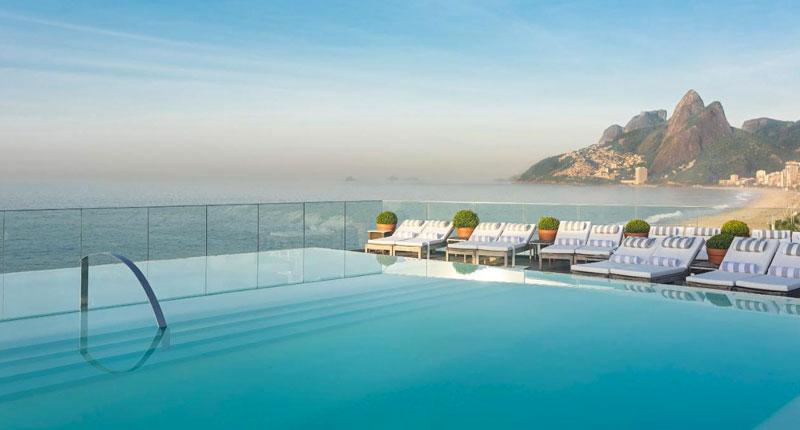 Melhores hotéis no Rio de Janeiro - Hotel Fasano Rio de Janeiro