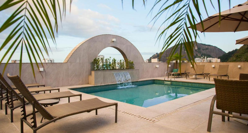 Melhores hotéis no Rio de Janeiro - Mirador Rio Copacabana Hotel
